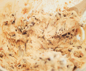 food, cookie dough, and yummy image