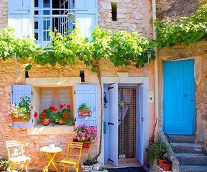courtyard, france, and provence image