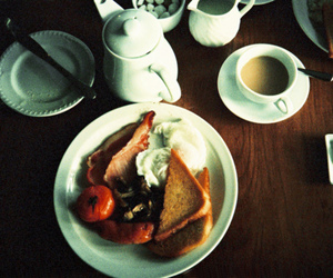 breakfast, photography, and tea image