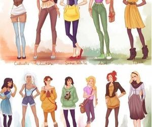 princess, disney, and hipster image