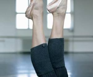 ballet, feet, and legs image