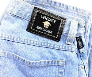 Versace, fashion, and jeans image