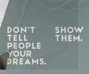 quote, Dream, and nike image