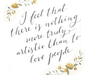 art, quote, and people image