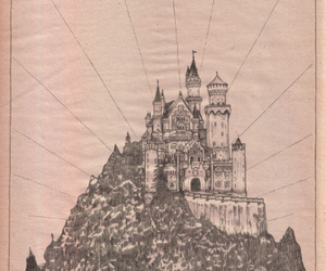 castle, dark, and french image