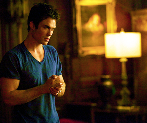 ian somerhalder, damon, and damon salvatore image