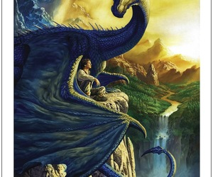 eragon, saphira, and dragon image