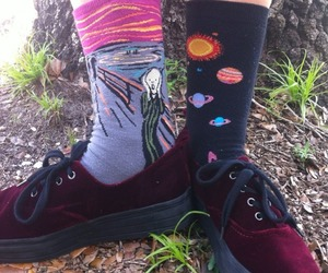 grunge, rad, and socks image