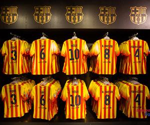 equipacion del barcelona, camiseta del barsa, and camiseta del barça 2014 image
