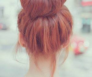 beauty, red, and hair image