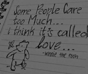 care, winnie the pooh, and love image
