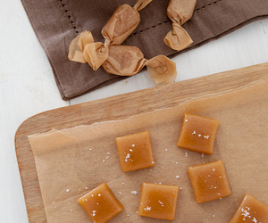 candy, caramel, and apple cider image