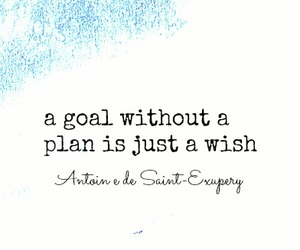 plan, quote, and wish image