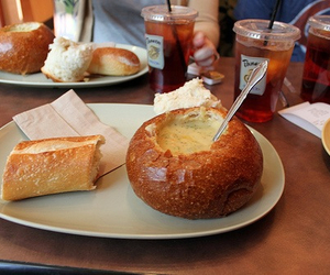 food, drink, and panera bread image
