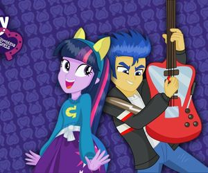 guitar, twilight sparkle, and love image