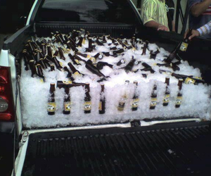 beer, party, and truck image