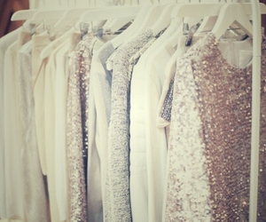 beauty, clothes, and glitter image