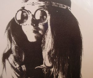 hippie, girl, and hippie girl image