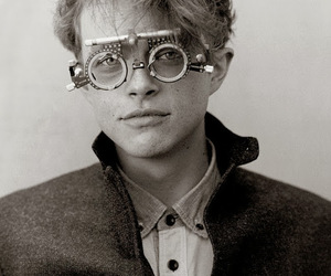 dane dehaan and black and white image