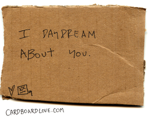cardboard, text, and love image