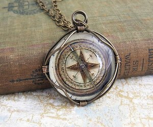compass, travel, and vintage image