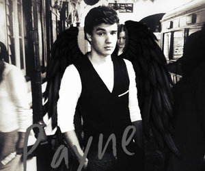 liam payne, one direction, and angel image