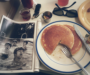 pancakes, breakfast, and food image