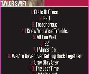 red, song, and taylor image