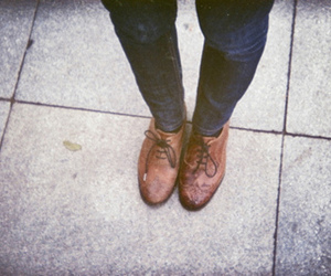 shoes, legs, and vintage image