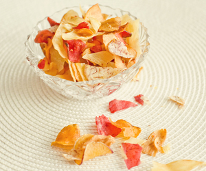 chips, healthy, and veggie image