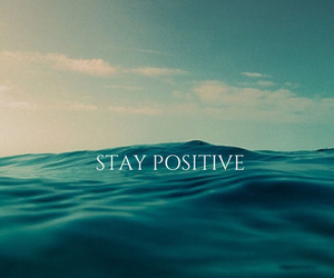 positive, sea, and quote image
