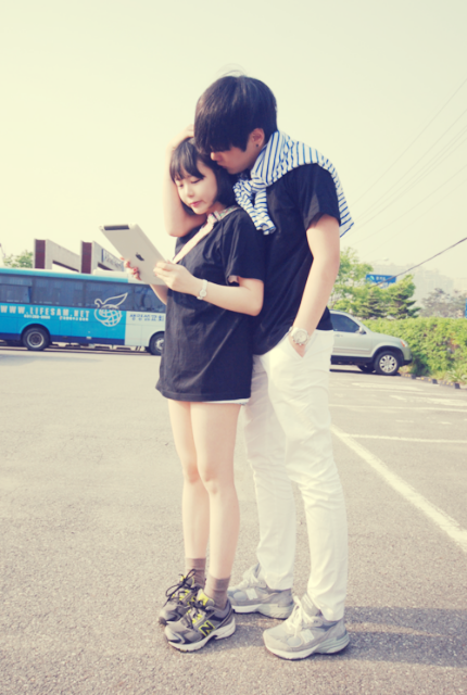 Image of: Love 3 Korean Couple Tumblr On We Heart It We Heart It 3 Korean Couple Tumblr On We Heart It