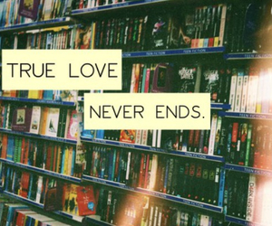 love, books, and never image