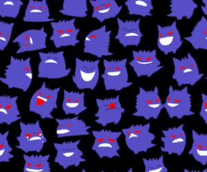 background, pokemon, and gengar image