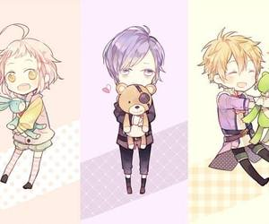 brothers conflict, diabolik lovers, and anime image