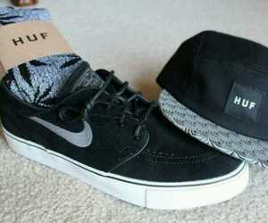 nike, huf, and cap image