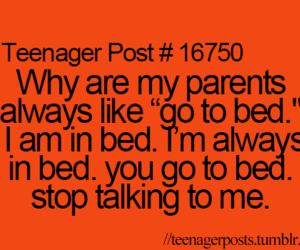 parents, funny, and teenager post image