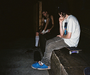boy, photography, and skate image
