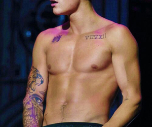 justin bieber, sexy, and Hot image