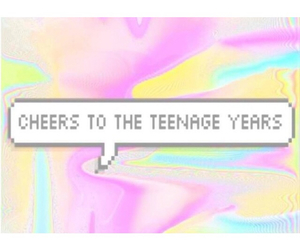 cheers, teenager, and trippy image