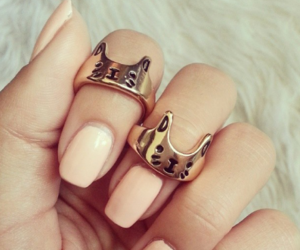 nails, cat, and rings image