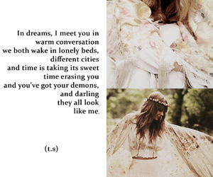 Taylor Swift, beautiful, and quote image