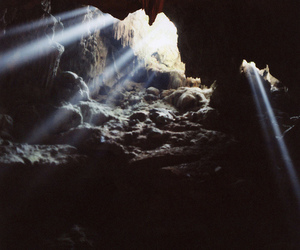film, halong bay, and light image