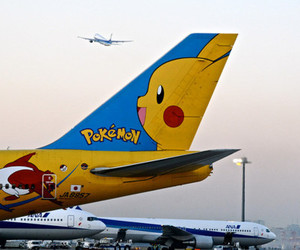 aeroplane, epic, and pikatchu image