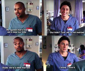 scrubs, jd, and turk image