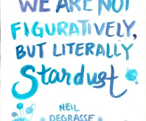 quotes, stars, and stardust image