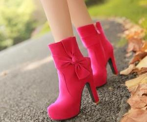 pink, sexy, and shoes image