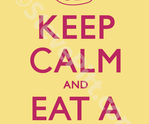 donut, eat, and keep calm image