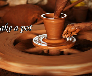 art, nature, and pottery image