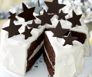 stars, cake, and truffles image
